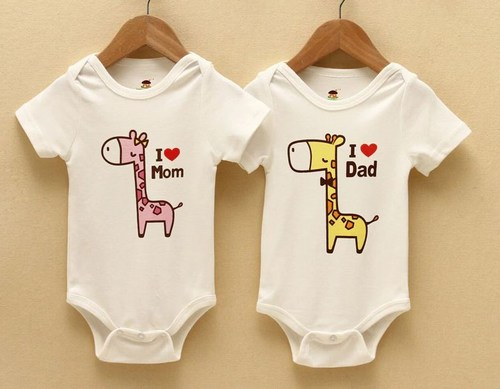 Stencil Painted Onesie Baby outfit