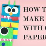 How to Make Bag with Color Paper, DIY Paper Bags Art Craft
